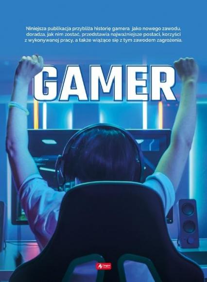 Gamer - Angelika Ogrocka   okładka