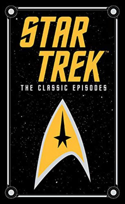 Star Trek: The Classic Episodes Barnes & Noble Leatherbound - Blish James  Lawrence J. A.   okładka