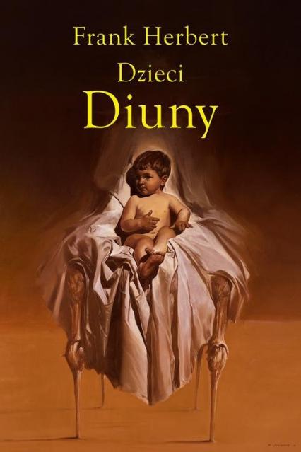 Dzieci Diuny - Frank Herbert | okładka