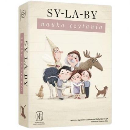 Sylaby Nauka czytania - Łubkowska Agnieszka, Szewczyk Michał | okładka