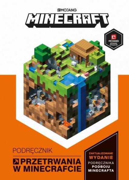 Minecraft Podręcznik przetrwania w Minecrafcie - Stephanie Milton   okładka