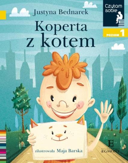 Czytam sobie Koperta z kotem / poz 1 - Justyna Bednarek   okładka