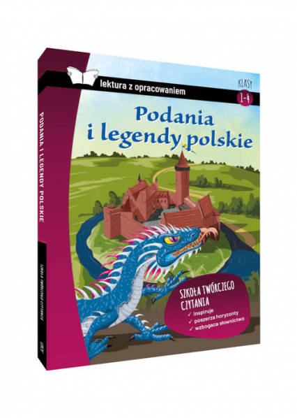 Podania i legendy polskie Lektura z opracowaniem Klasy 4-6 szkoła podstawowa -  | okładka