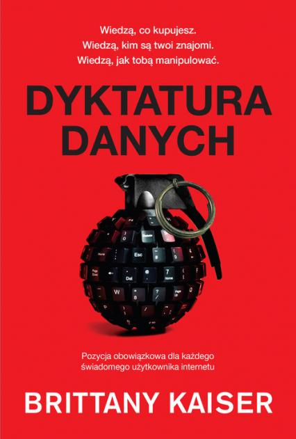 Dyktatura danych - Brittany Kaiser | okładka