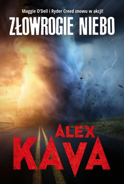 Złowrogie niebo - Alex Kava | okładka