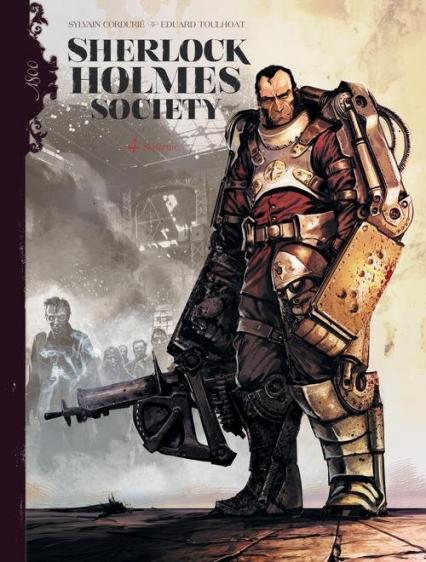 Sherlock Holmes Society Tom 4 Skażenie - Sylvain Cordurié | okładka