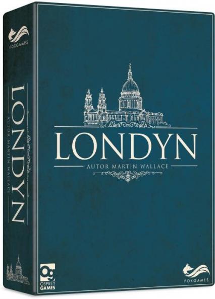 Londyn - Martin Wallace | okładka