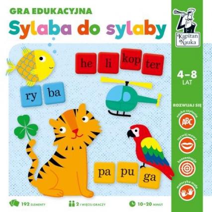 Sylaba do sylaby Gra edukacyjna -    okładka