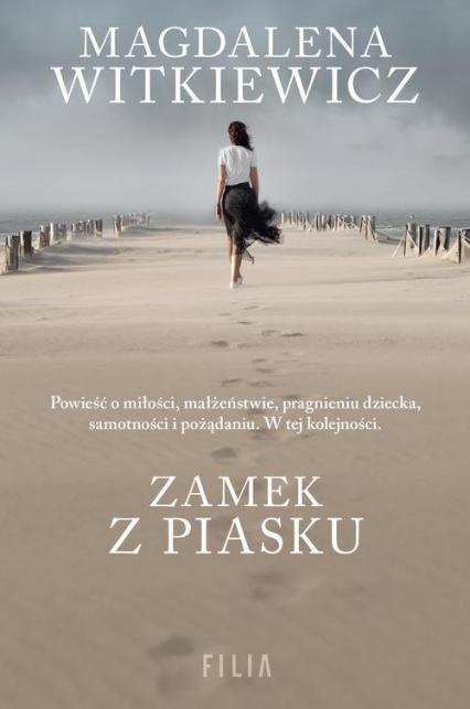 Zamek z piasku - Magdalena Witkiewicz | okładka