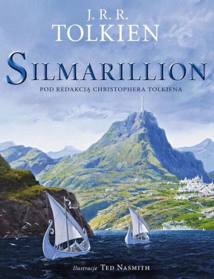 Silmarillion Wersja ilustrowana - J.R.R. Tolkien   okładka