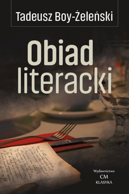 Obiad literacki - Tadeusz Boy-Żeleński | okładka