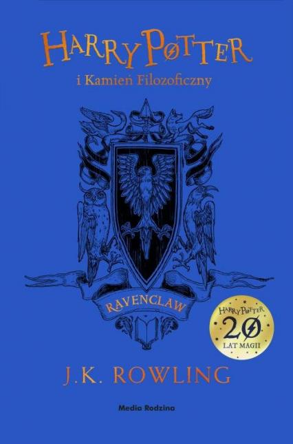 Harry Potter i kamień filozoficzny Ravenclaw - Rowling Joanne K. | okładka