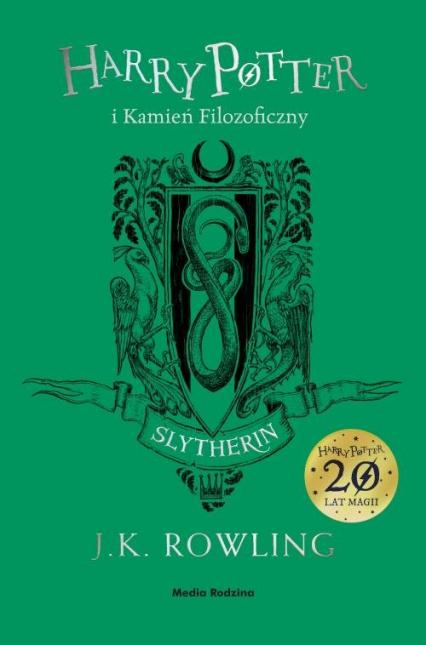 Harry Potter i kamień filozoficzny Slytherin - Rowling Joanne K. | okładka