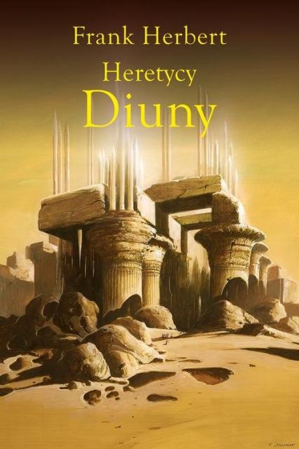 Heretycy Diuny - Frank Herbert | okładka