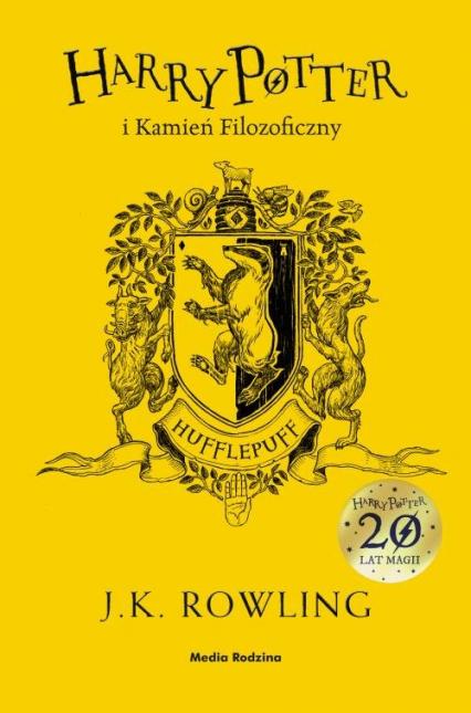 Harry Potter i kamień filozoficzny Hufflepuff - Rowling Joanne K.   okładka