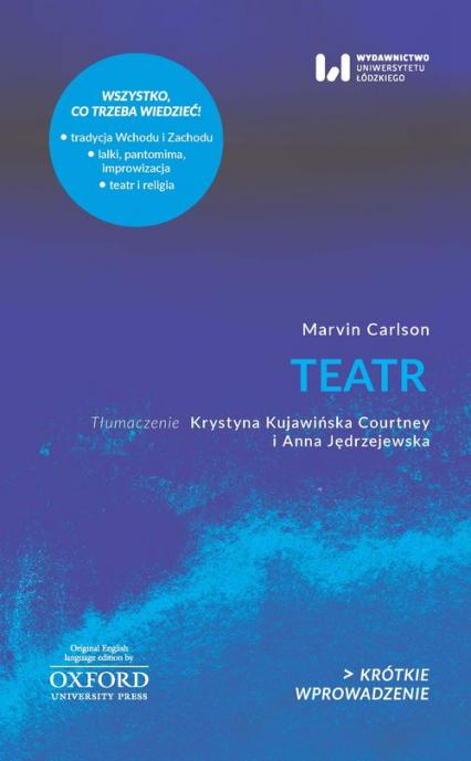 Teatr - Marvin Carlson | okładka