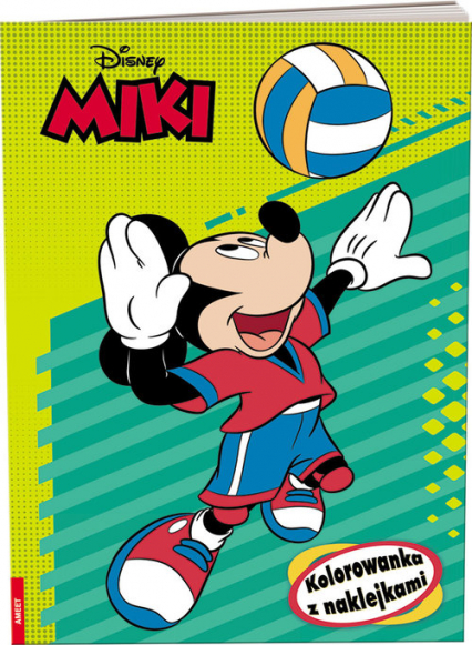 Disney Miki Kolorowanka z naklejkami -  | okładka