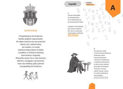 Zagadki wierszyki ciekawostki o Krakowie Krakusek - Stadtmüller Ewa, Chachulska Anna   okładka