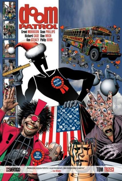 Doom Patrol Tom 3 - Grant Morrison   okładka