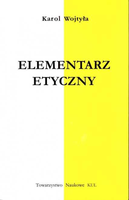 Elementarz etyczny - Karol Wojtyła | okładka