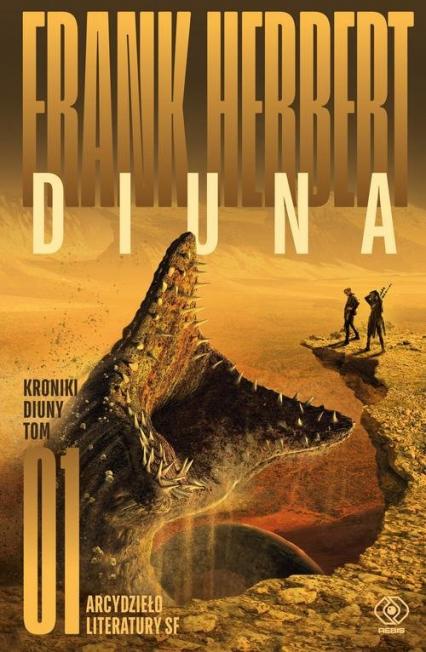 Diuna - Frank Herbert   okładka