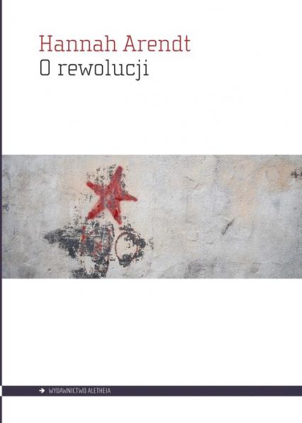 O rewolucji - Hannah Arendt   okładka