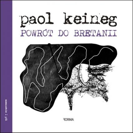 Powrót do Bretani - Paol Keineg | okładka