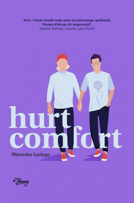 Hurt comfort - Weronika Łodyga | okładka