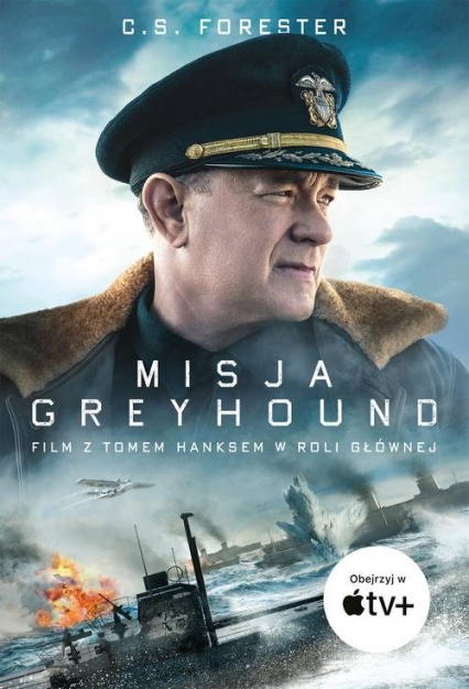 Misja Greyhound - C.S. Forester | okładka