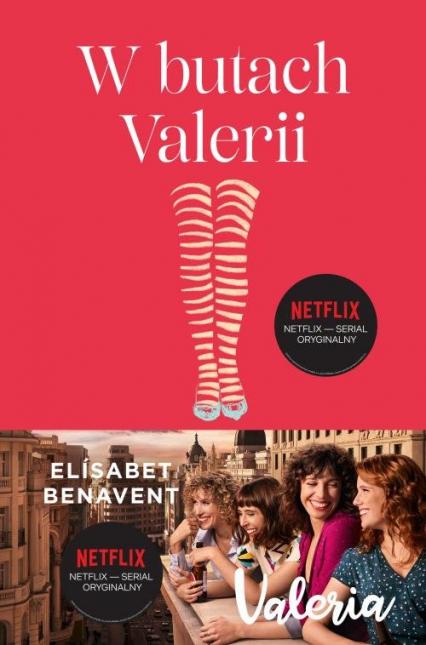 W butach Valerii  Tom 1 Valeria - Elisabet Benavent | okładka