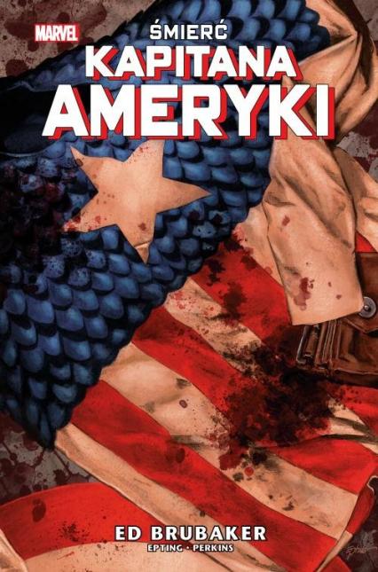 Śmierć Kapitana Ameryki -    okładka