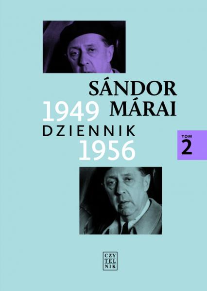 Dziennik 1949-1956 Tom 2 - Sandor Marai | okładka