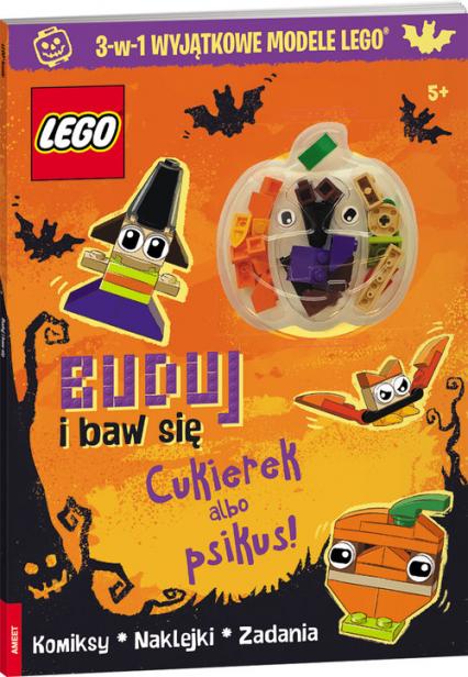 Lego Iconic Buduj i baw się Cukierek albo psikus! BBA-6603 - zbiorowe Opracowanie | okładka