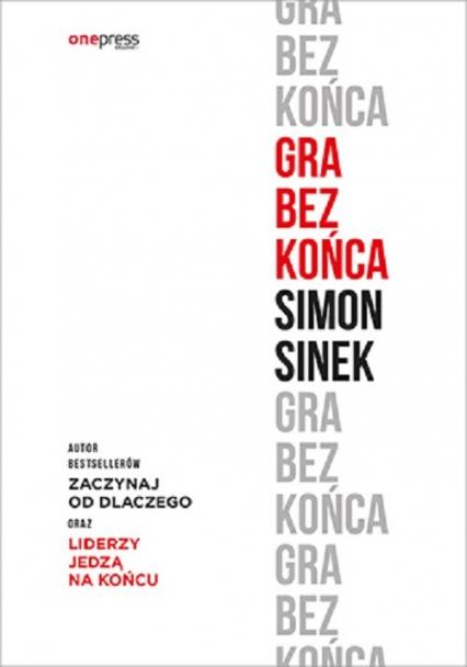 Gra bez końca - Simon Sinek | okładka