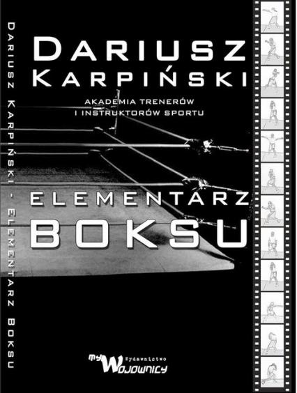 Elementarz Boksu - Dariusz Karpiński   okładka