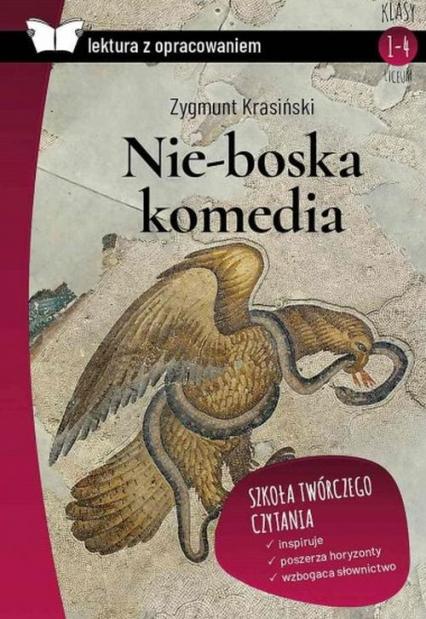 Nie-boska komedia Lektura z opracowaniem - Zygmunt Krasiński | okładka