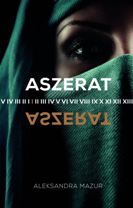 Aszerat - Aleksandra Mazur   okładka