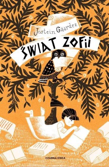 Świat Zofii - Jostein Gaarder | okładka