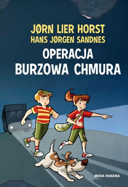 Operacja Burzowa Chmura - Horst Jorn Lier   okładka
