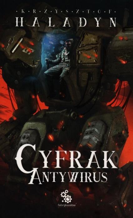 Cyfrak Tom 2 Antywirus - Krzysztof Haladyn | okładka