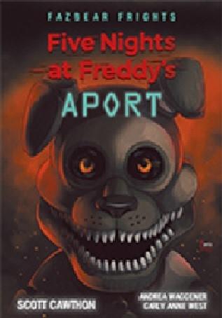 Five Nights At Freddy's Aport - Scott Cawthon | okładka