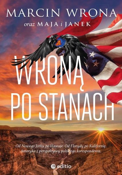 Wroną po Stanach - Marcin Wrona   okładka