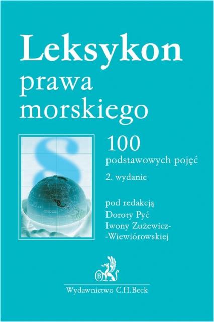 Leksykon prawa morskiego 100 podstawowych pojęć -  | okładka