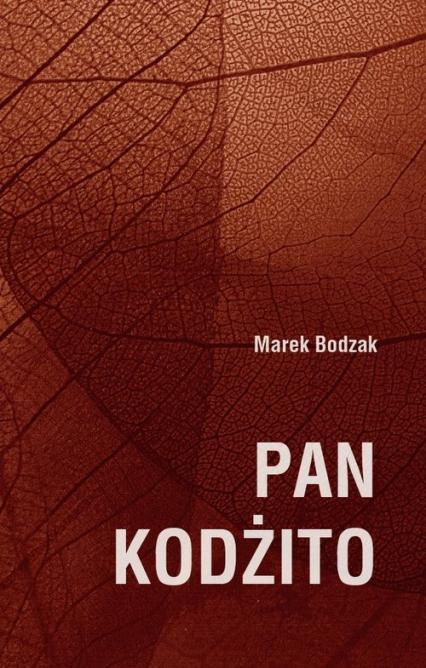 Pan Kodżito - Marek Bodzak | okładka