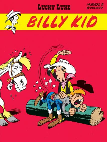 Lucky Luke Billy Kid - Goscinny Rene, Morris   okładka