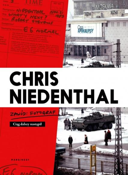 Zawód fotograf - Chris Niedenthal | okładka
