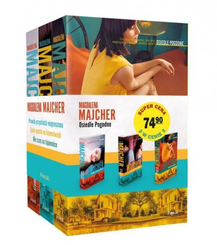 Osiedle Pogodne Tom 1-3 Pakiet - Magdalena Majcher | okładka