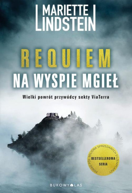 Requiem na Wyspie Mgieł - Mariette Lindstein | okładka