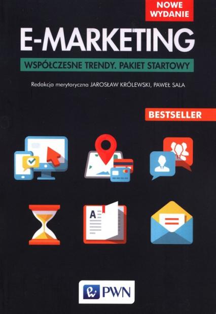 E-marketing Współczesne trendy. Pakiet startowy -  | okładka