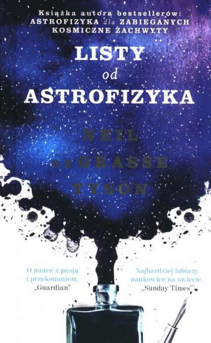 Listy od astrofizyka - deGrasse Tyson Neil   okładka